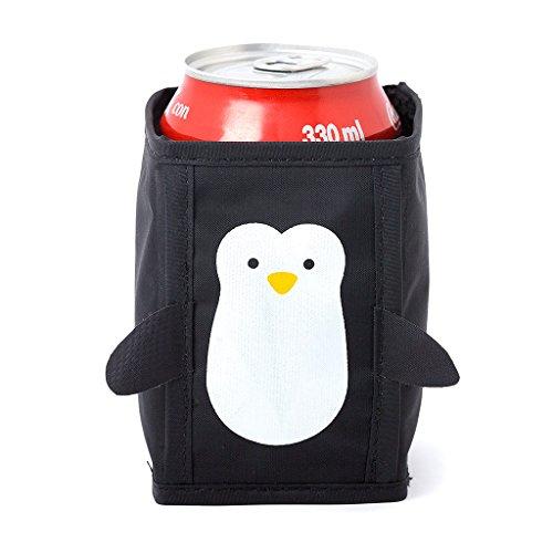 Balvi - Pingvinburk svalare, ölkylare, drinkkylare. Set med 4 enheter. Med pingvinform.