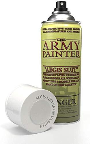The Army Painter | Colour Primer | Aegis-Suit Satin Varnish | 400 ml | akrylowy spray | podkład | do malowania modelarskiego