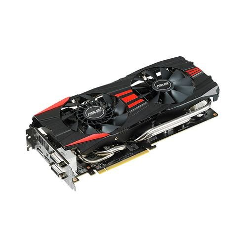 Asus AMD Radeon R9280X-DC2-3GD5 Grafikkarte (PCI-e, 3GB GDDR5 Speicher, DVI, HDMI, DisplayPort, 1 GPU)