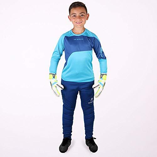 HO Soccer Keeper Set Premier Conjuntos de Portero, Unisex niños, Azul, 14