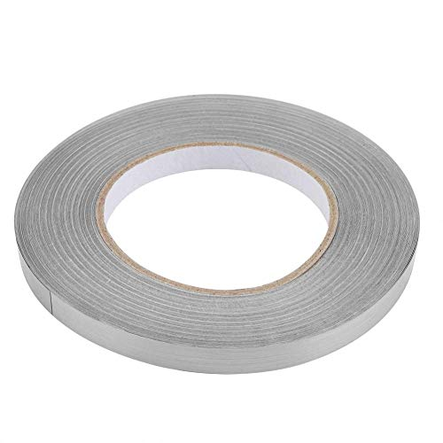 Garosa PVC FolieBoden Fuge Dekoration Wasserdicht Aufkleber Selbstklebende für Schlafzimmer Wohnzimmer Zubehör(Silber 1cm)