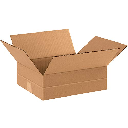 Aviditi MD12104 Multi-Depth Corrugated Cardboard Box 12