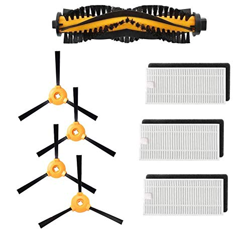HUNSUETEK Brushes/Replacements Part Compatible Ecovacs DEEBOT N79S & N79 (with Main Brush)
