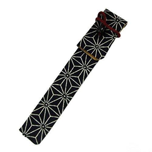 フカシロ キセル入れ キセルケース 綿 アサノハ 18012811 20cmまで対応 煙管 きせる 袋