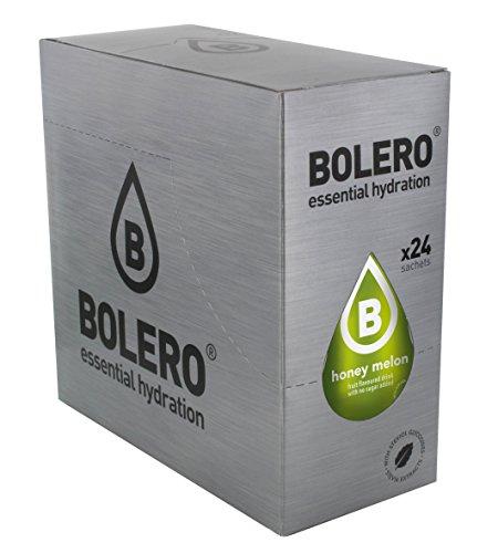 Bolero Bebida Instantánea sin Azúcar, Sabor Melón - Paquete de 24 x 9 gr - Total: 216 gr