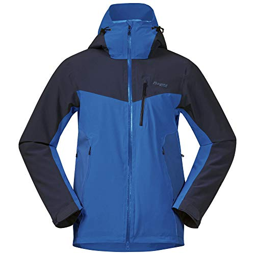 Bergans Oppdal Insulated M Jacket Colorblock-Blau, Herren Regenjacke, Größe XL - Farbe Strong Blue - Navy