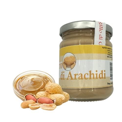 100% Puro Burro d'arachidi - 200g - Burro arachidi proteico - Crema proteica - Burro di arachidi naturale - Crema di arachidi - Peanut butter