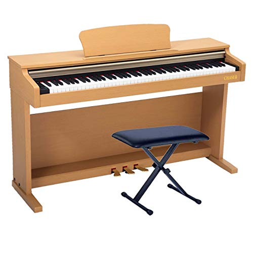 Chase CDP-245LC Digital Upright Piano In Light Cherry/Beech Colour