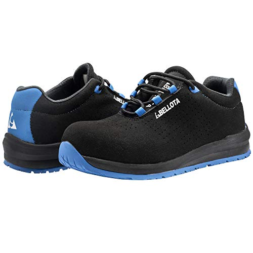 Bellota 72351B41S1P Zapato de Seguridad, Negro, Azul, 41