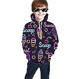 Sudaderas para jóvenes Sudadera con Capucha Unisex Impresión Informal Sudadera con Capucha Camisa de Bolsillo Suéter (Color : Multi-Colored, Size : 100)