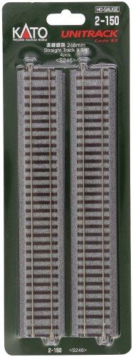 KATO HOゲージ 直線線路 246mm 4本入 2-150 鉄道模型用品