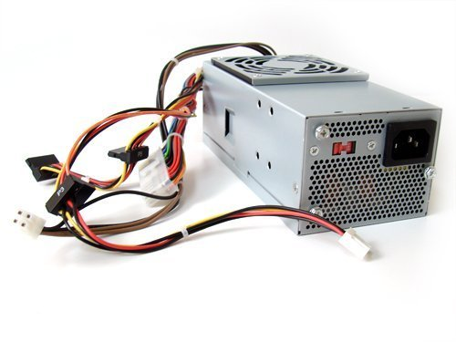 DELL XW784 CYY97 7GC81 6MVJH W210D 250w Power Supply For Dell Inspiron 530s 531s, Vostro 200s 220s, Studio 540s Small Form Factor(SFF), Identical Parts: 43F30 N038C XW604 XW605 YX299 YX301 YX302