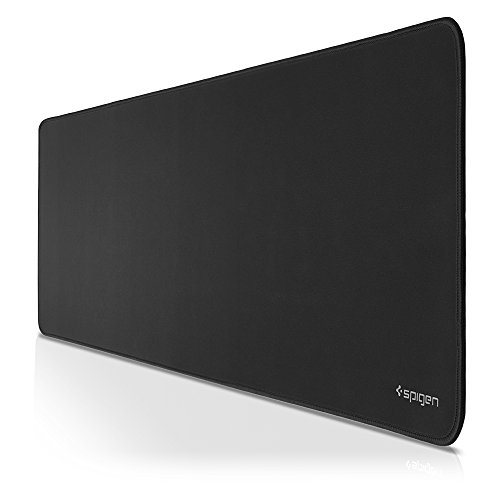 Spigen A103 Mouse Pad Gaming Mat with Smooth Surface and Stitched Edges 36' x 12' x 0.15' Extended Size – Speed Edition