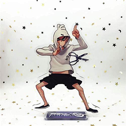 CAR-TOBBY Schaar Zeven Ketting voor Broeken Anime Acryl Figuur Stand, Anime Bureau Stand Miniatuur Actie Figuur voor Thuis H05