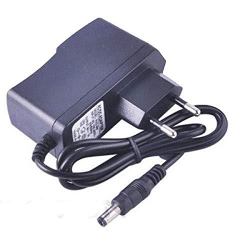 Greatangle-UK Universal AC 100-240V a DC 9V 1A Conmutación Adaptador convertidor de Fuente de Alta Potencia Enchufe de la UE para Tiras de LED para Accesorios de teléfono móvil Negro UE
