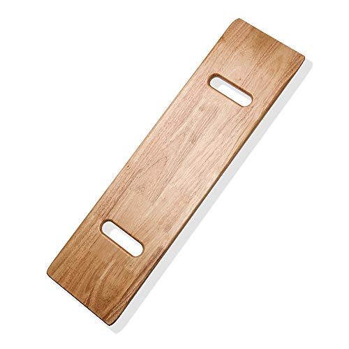 Transfer Board with Handles, Wooden Patient Slide Assist Device, Heavy Duty Slide Boards for Transfers of Seniors and Handicap, 500lb, 30 x 8 x 0.7