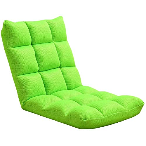MMMP Lazy Sofa Chairs,Lazy Sofa Couch Bed With Adjustable Backrest, Living Room Gaming Floor Chair, Easily Folding For Teens Adults, Comfortable Soft Durable Strong (Color : A)