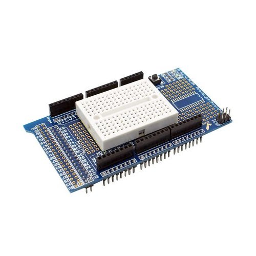 Proto Shield V3 Breadboard 170 punti fori contatti Kit Arduino mega 2560 ADK prototype shield basetta millefori pcb