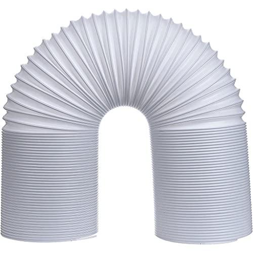 Tragbare Klimaanlage Schlauch, Abluftschlauch Verlängerung PP 5'' Durchmesser, Schlauch klimagerät, PP Schlauch Universell Abluftschlauch Verlängerung für Klimaanlage Klimagerät Dunstabzugshaube (2 M)