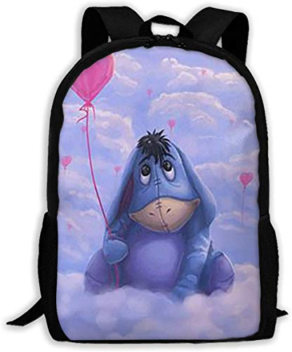 DJNGN Erwachsener Rucksack Winnie The Pooh Classical Basic Travel Backpack for School Water Resistant Bookbag