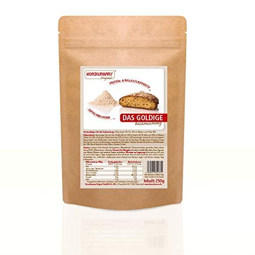 Konzelmann's Original - Protein Brotbackmischung Das Goldige - 250 g