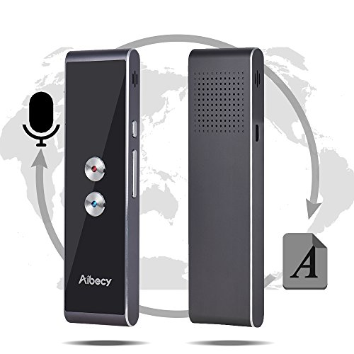 Dounan Translation Device,Real-time Multi Language Translator Speech/Text Translation Device with APP for Business Travel Shopping English Chinese French Spanish Japanese Arabic