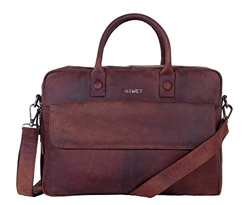 DSTRCT Wall Street Delta Laptoptas 17 inch Brown
