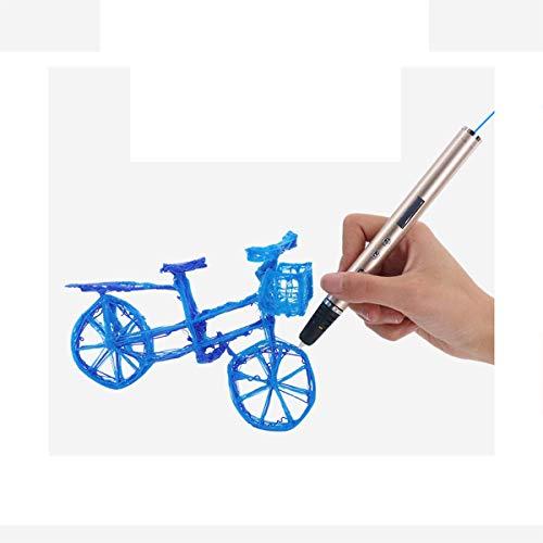 DUTUI 3D Printing Pen, Children's Intellectual Graffiti Toys, Alumina Slim Pen Body, Small Creative Set Gift Box