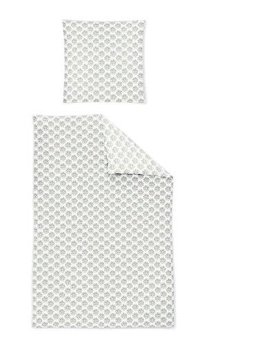 Irisette Mako-Satin Bettwäsche Capri 8610-30 Minera 135x200 + 1x 80x80