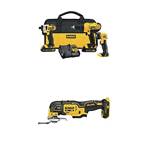 DEWALT DCK340C2 20V Max 3-Tool Combo Kit with oscillating tool