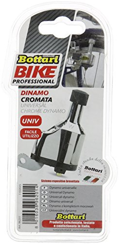 Bottari accessoires universele fiets chromo Dynamo-zilver