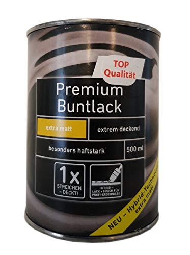 3x500 ml Ostendorf Premium Buntlack Acryl innen&außen extra matt 1,5 L Farbwahl, Farbe:Pink