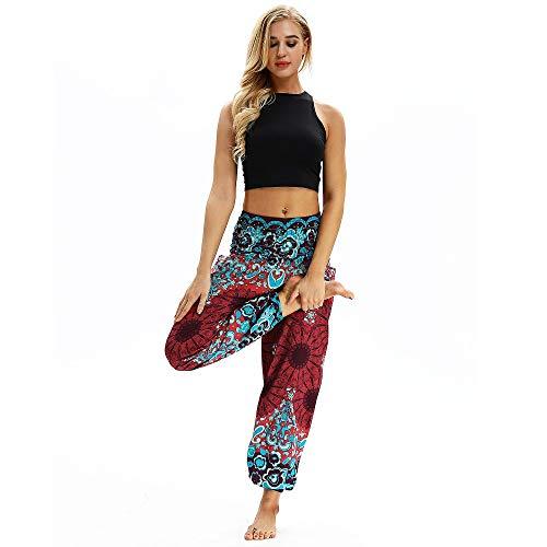 KKIMISPORT Yoga-Hosen für Damen Stretch Zurück Nepal Reise Breitbeinige Hose Sonnencreme Strand Im Sommer Yci 014 Einheitlicher Code