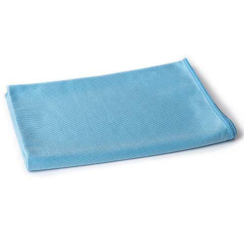 sonty Premium paño de microfibra, para la autoreinigung profesional, 50x 70cm en azul, gamuza de microfibra como Auto piel para secar,, limpieza Limpieza