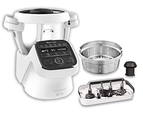 Moulinex Cuisine Companion XL HF80CB - Robot de cocina Bluet