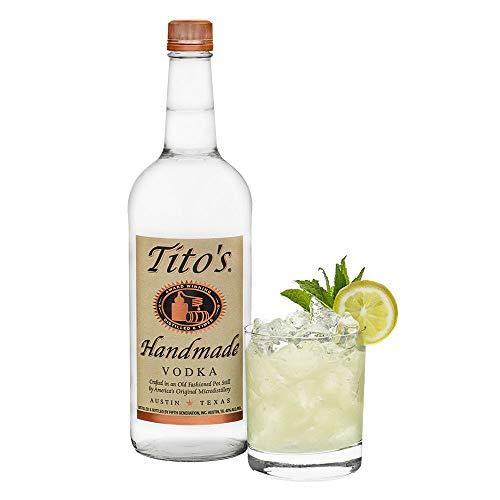Tito´s Handmade Vodka 40% vol., 6-fach destilierter Wodka aus 100% Mais, Vodkamarke Nr. 1 in den USA (1 x 0.7 l) - 12