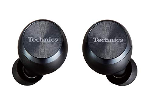 Technics EAH-AZ70WE-K - Auriculares True Wireless Noise-Cancelling control táctil(Bluetooth independiente, estuche de...