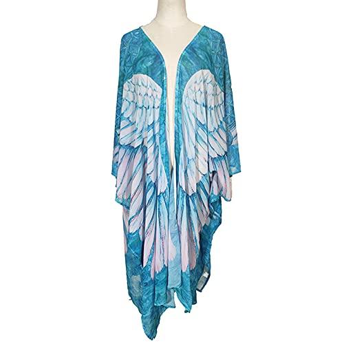 ZCRFYY Dance Butterfly Wings para Mujeres para Mujer niñas Chal Mariposa alas para...
