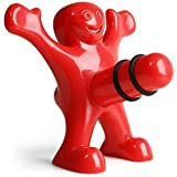 Happy Man Bottle Stopper-Flaschenverschluss