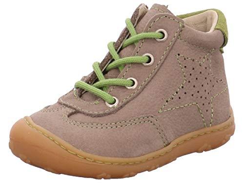 RICOSTA 1223900-659, Chaussures Premiers Pas pour bébé (garçon) - Gris - Gris, 19 EU