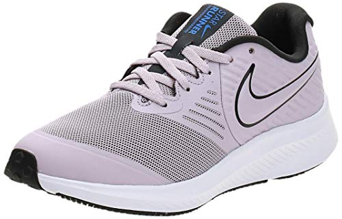 Nike Star Runner 2 (GS), Zapatilla de Correr, Ice Lilac/Off...