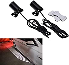 BEESCLOVER 2PCS Car LED Welcome Ghost Shadow Courtesy Angel Wing Projector Light for BMW Ford vw Mazda Jetta Toyota Peugeot Volvo Show One Size