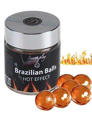 2. Bolas brasileñas de masaje con efecto calor Secret Play