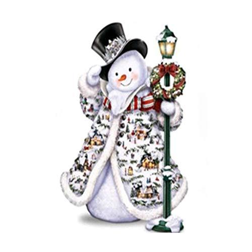 Fasclot Christmas Snowman 5d DIY Diamond Painting Embroidery Craft Rhinestone Pasted Home & Garden Diamond Painting