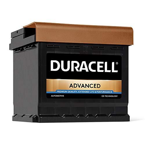 DURACELL Advanced Autobatterie 50AH 12V Starter Batterie (50AH)