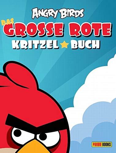 Angry Birds Kritzelbuch: Bd. 1: Das große rote Kritzelbuch
