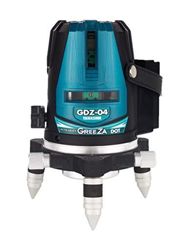 山真製鋸(YAMASHIN) グリーンレーザードット照射墨出し器 GDZ-04 DOT(本体のみ)モデル GDZ-04 DOT (2垂直・1水平ライン照射タイプ)
