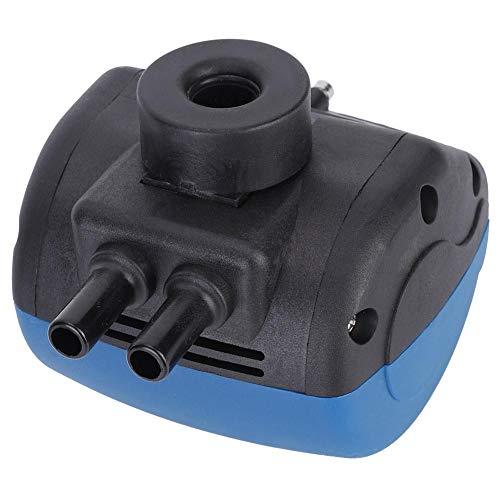 Cafopgrill Pneumatischer Pulsator, 2 Steckdosen Kunststoff-Bauernhof Vieh Schaf Melkmaschine Pneumatischer Pulsator Melkzubehör