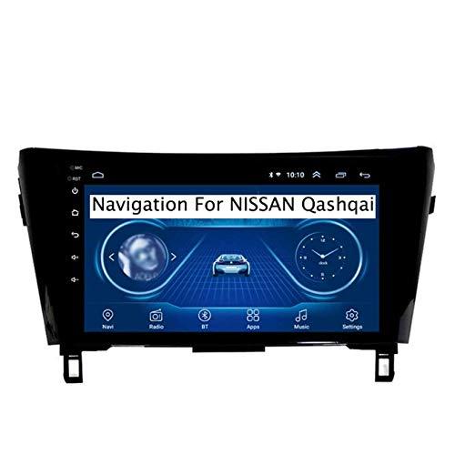 Para Nissan Qashqai X-Trail 2013-2018 Android 8.1 Navegación GPS de doble Din Pantalla táctil de 9 pulgadas DSP RDS Unidad principal estéreo para automóvil Reproductor multimedia Receptor de radio,