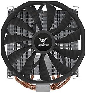 Nfortec Vela KX - Disipador CPU, Color Nergo